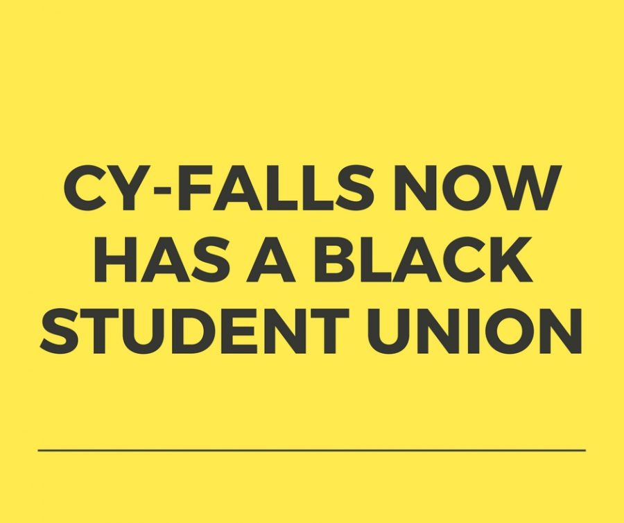 Cypress Falls Now has a Black Student Union
