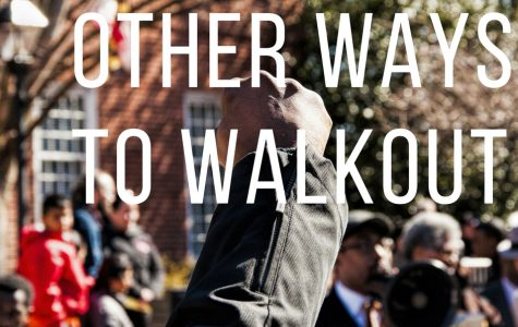 "Other ways to ""Walk Out"" in protest for stricter gun legislation."