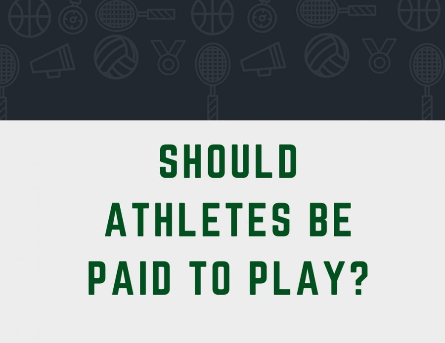 Should Athletes be paid to play?