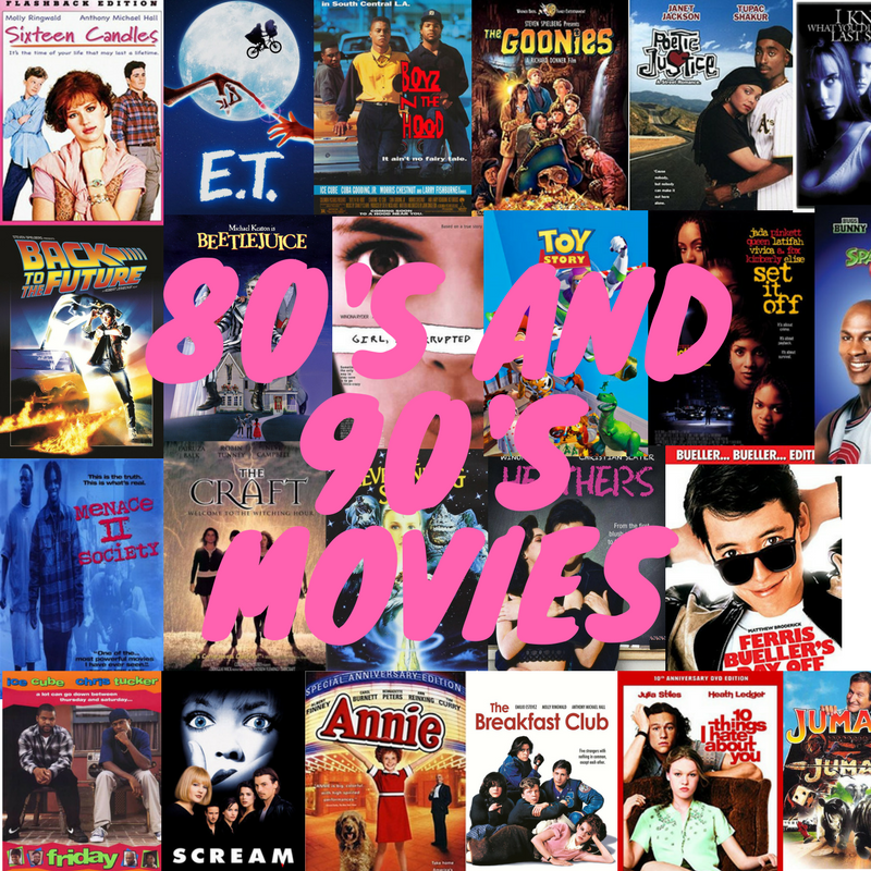 Best 80's and 90's films