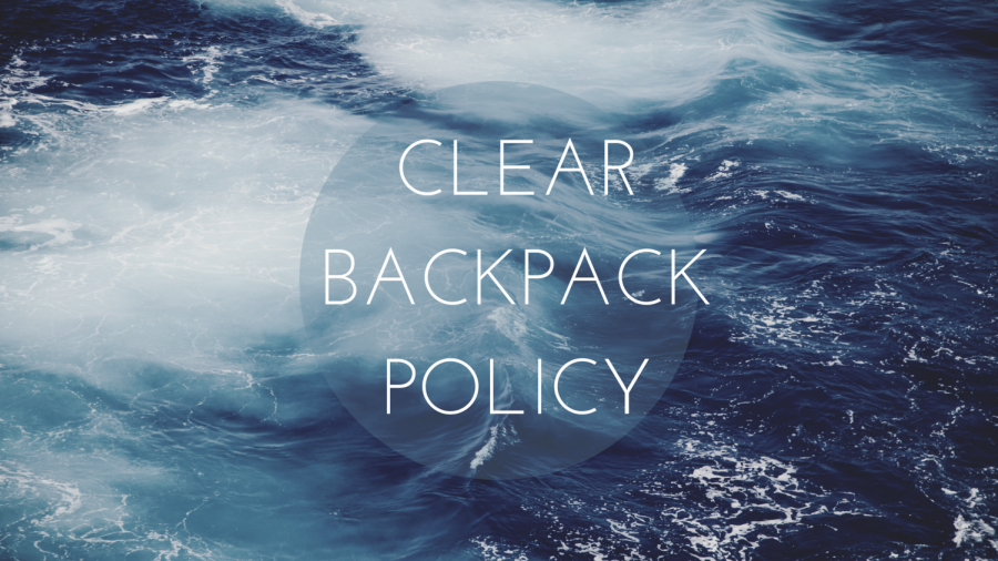 Clear Backpack Policy