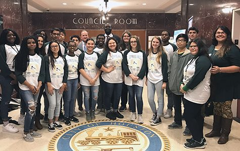 Debate Students Visit City Hall, Observe Real-Life Policymaking