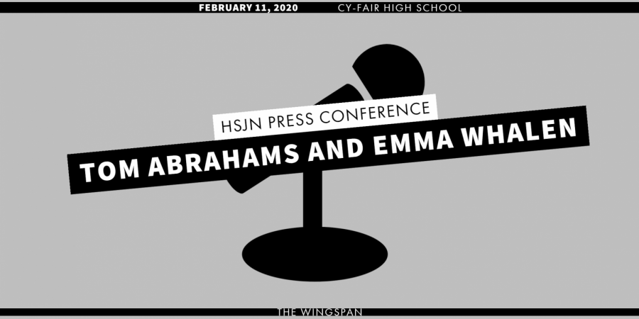 Cy-Fair Hosts February HSJN Press Conference
