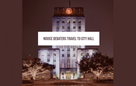 Novice Debaters Travel To City Hall