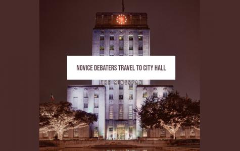 Novice Debaters Travel To City Hall