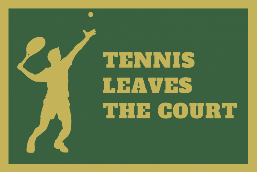 Tennis Leaves the Court