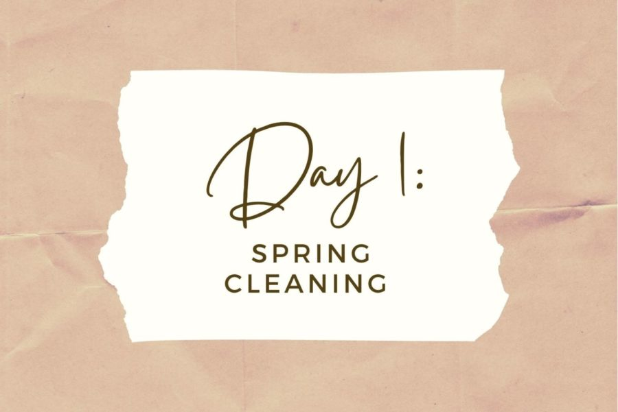 DAY+1%3A+Spring+Cleaning