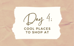 DAY 4: Cool Places to Shop At