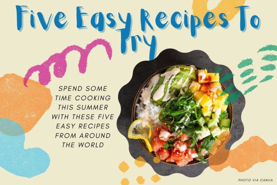Five Easy Recipes To Try