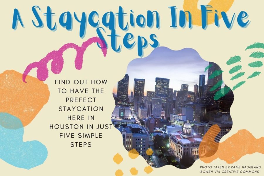 A Staycation In Five Steps